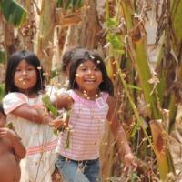 Erkunden Sie ein indigenes Dorf der Ngobe