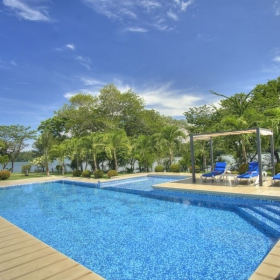 The Swimming Pools, Hotel Bocas del Mar.